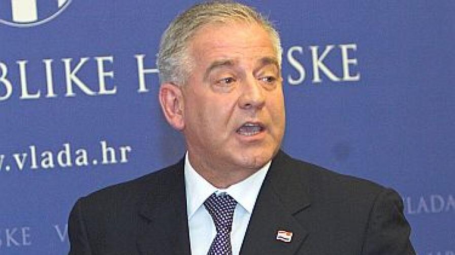 Бившият хърватски премиер Иво Санадер е арестуван в Австрия