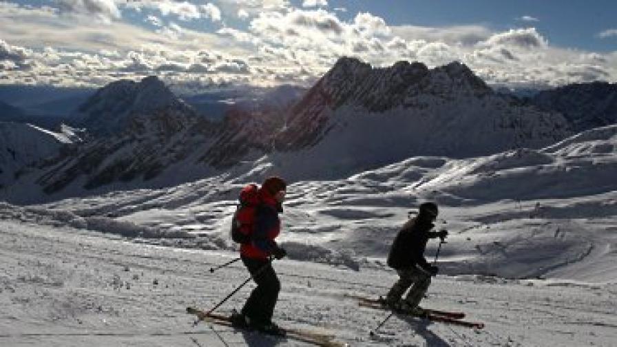 Някои карат ски с диаманти
