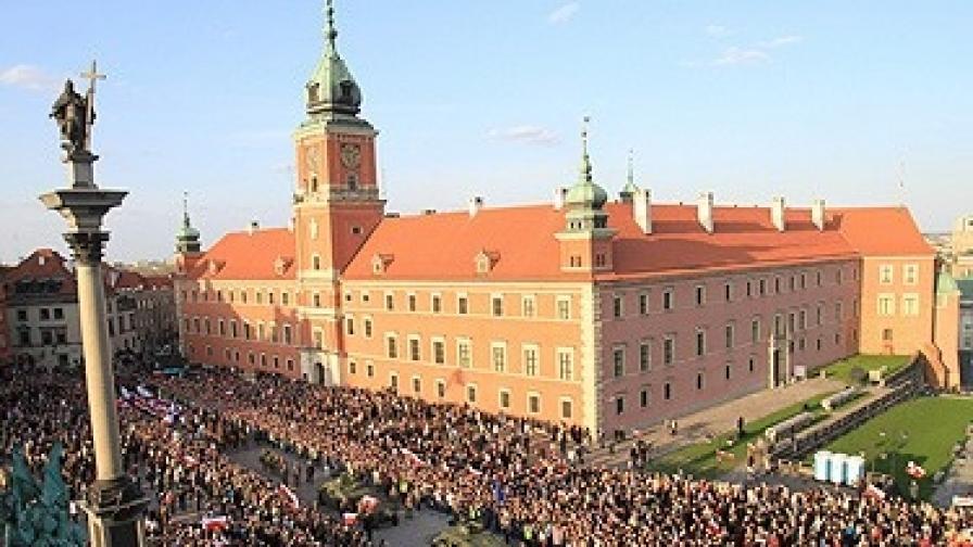 Сто хиляди души присъстваха на опелото на загиналия полски президент Лех Качински