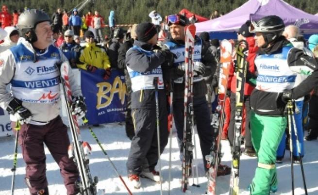 Полицейски ски патрули в Банско