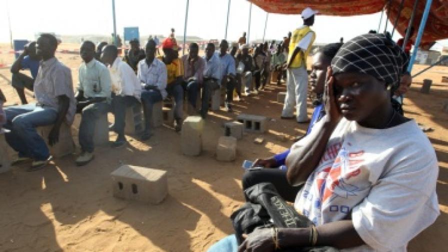 Трима българи са отвлечени в Судан