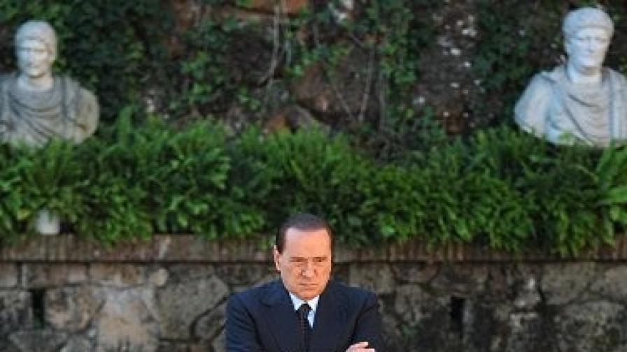 """Берлускони няма да подава оставка заради """"Рубигейт"""""""