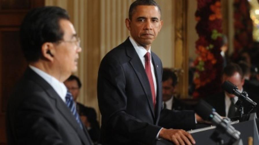 Ху Дзинтао в САЩ: Да, имаме проблем с човешките права