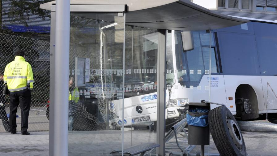 Автобус уби жена на летището във Франкфурт