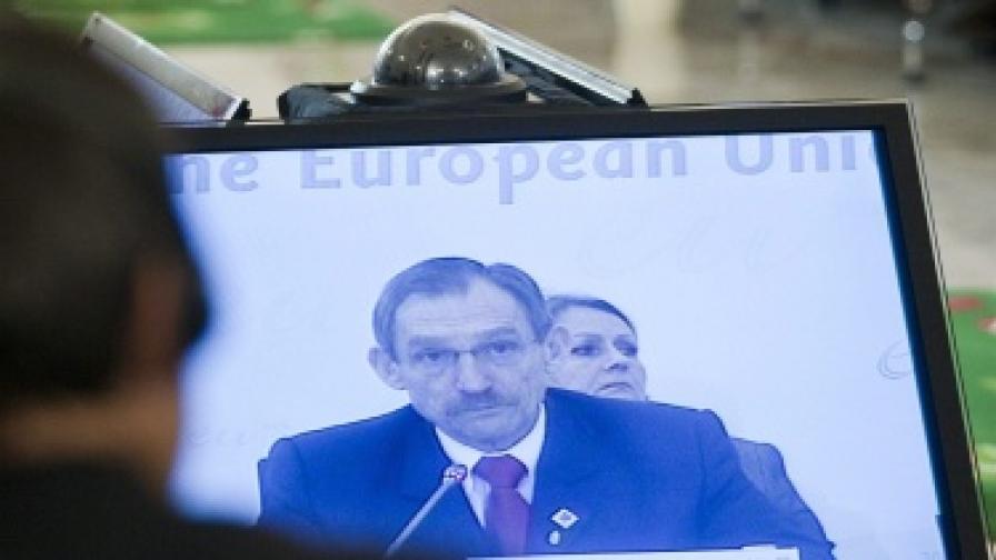 Унгарският министър на вътрешните работи Шандор Пинтер представи днес приоритетите в своята област пред Европейския парламент