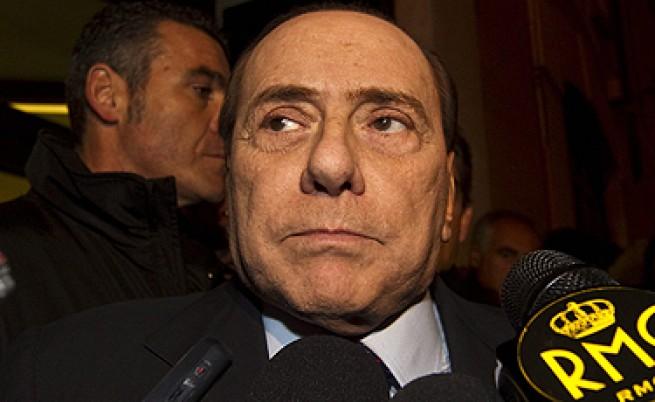 Берлускони вдигна скандал на телевизия заради