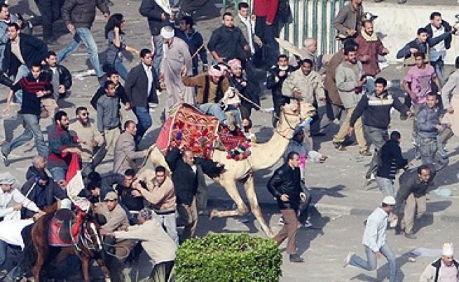 3 жертви и 600 ранени след бой с камъни и колове в Кайро