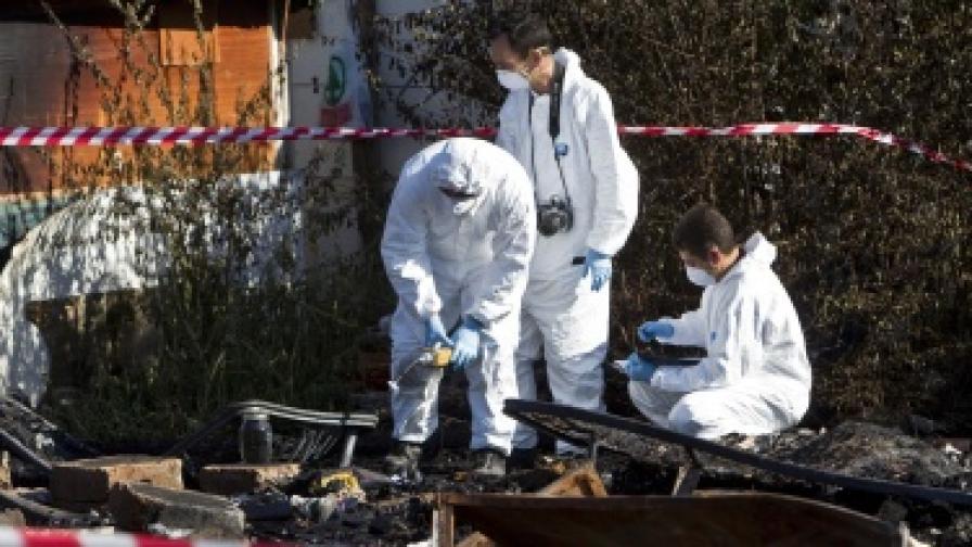 Пожар в ромски лагер до Рим, 4 деца загинаха
