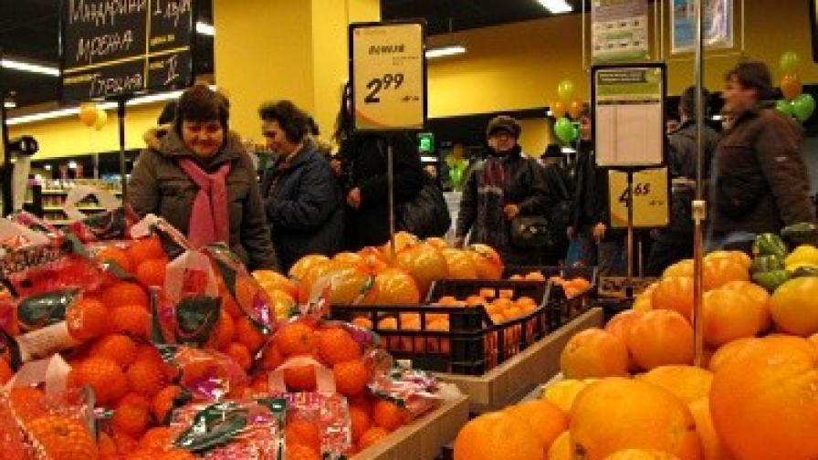 Големите хипермаркети обвинени в картелно споразумение