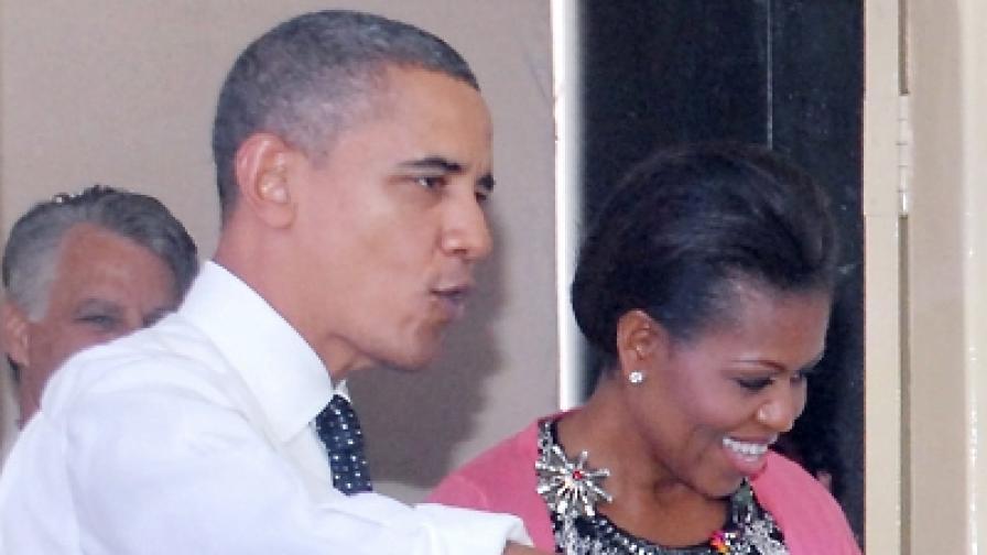 Успешният брак на Барак Обама се дължи на смеха