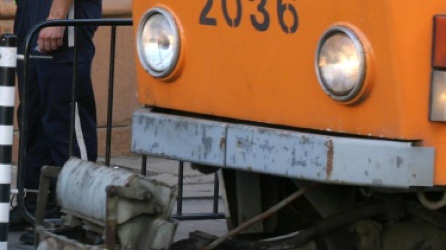 Авария по линията на трамваи №6, 11 и 12