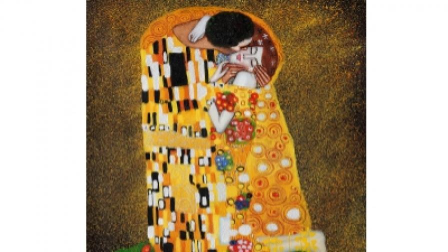 Густав Климт. Целувката