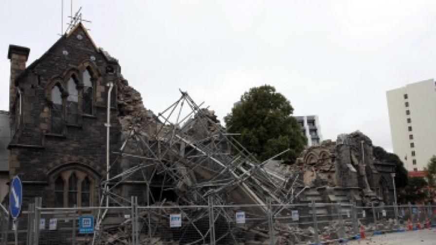 Ново силно земетресение в Крайстчърч, десетки жертви