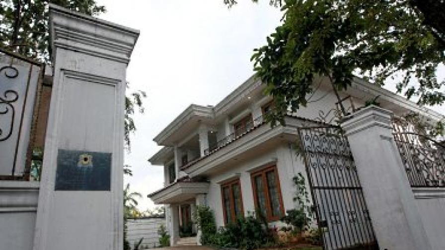 Либийското посолство в Джакарта, Индонезия – една от мисиите, чийто ръководители подадоха оставка о се разграничиха от Кадафи