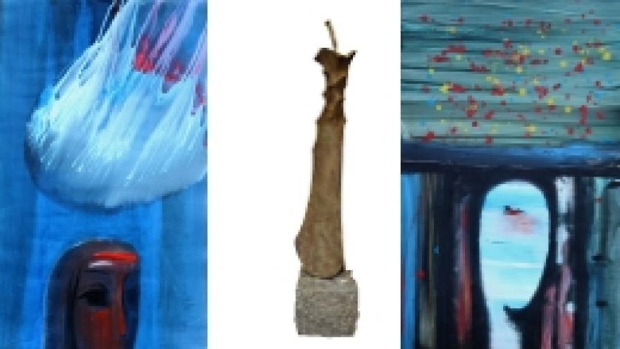 Красимир Джидров показва рисунки и скулптура