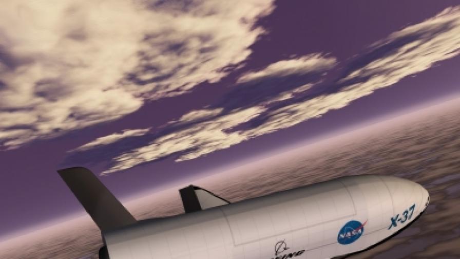 """Американски """"космически самолет"""" на мистериозна мисия в Космоса"""