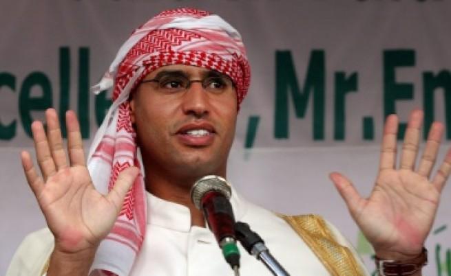 Синът на Кадафи плаши Европа с бежанци и пирати