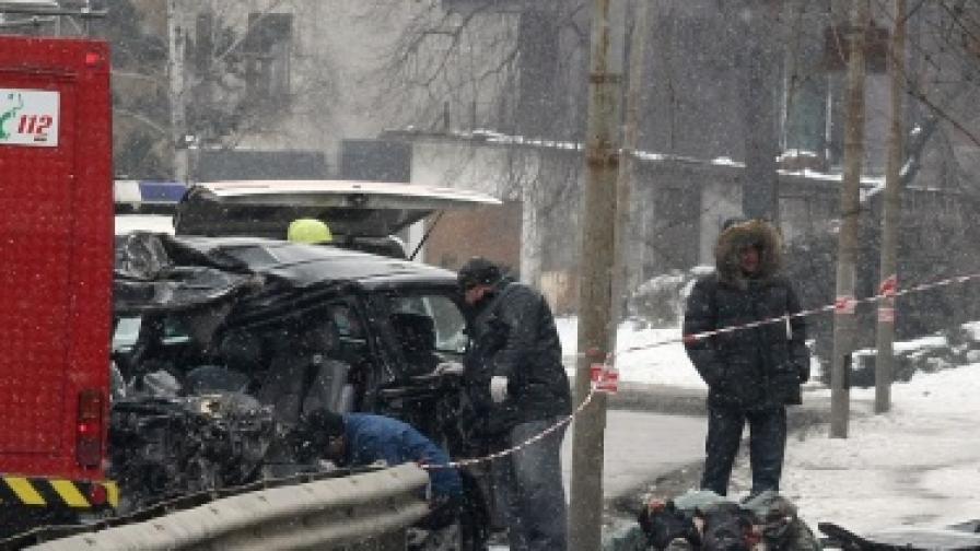 Йоско бил пиян по време на катастрофата в Бояна