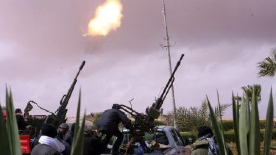 Либийските бунтовници дадоха 72 часа на Кадафи да се оттегли