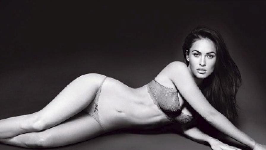 """Меган Фокс във фотосесия за модна къща """"Армани"""""""
