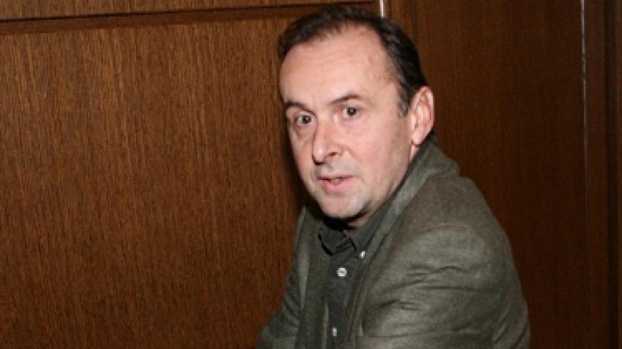 Валентин Димитров в съда