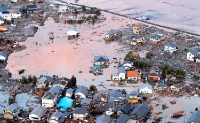 Призрачен град след опустошителното цунами в Япония