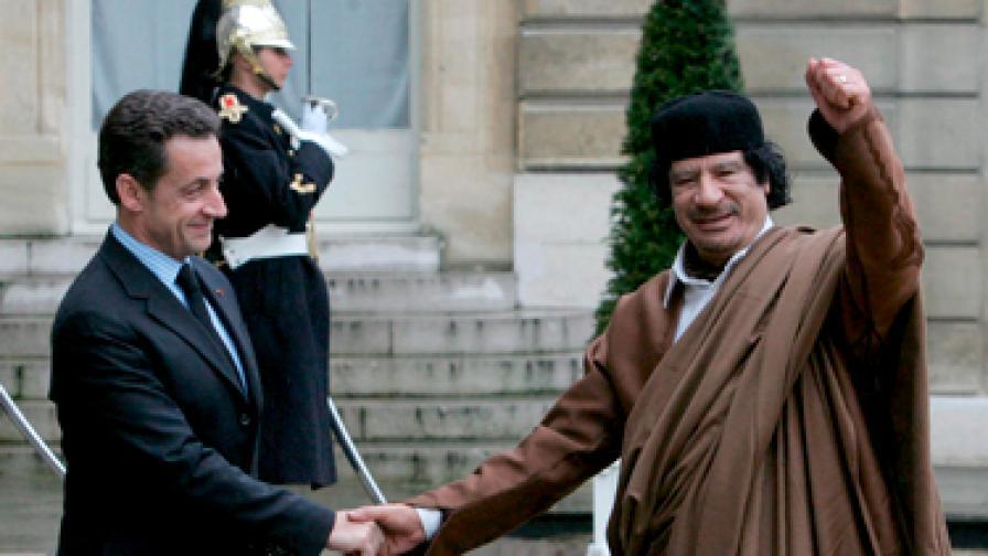 Либия прекъсва дипломатическите си отношения с Франция