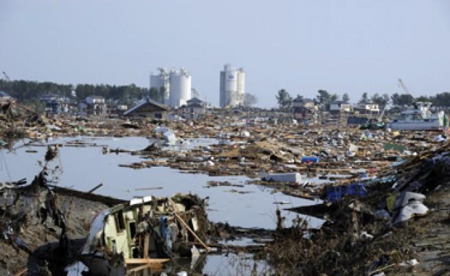 Земетресението в Япония е било 9,0 по Рихтер