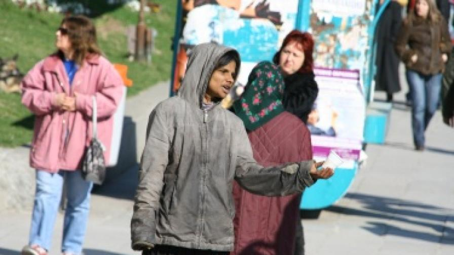 501 просяци преброиха по софийските улици