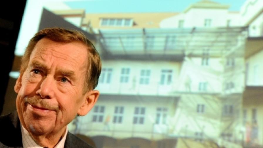 Вацлав Хавел дебютира в киното