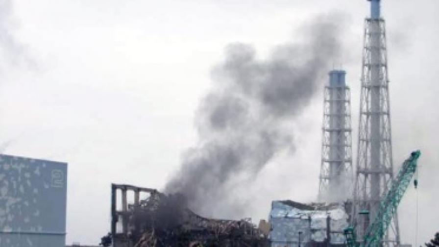 """Трети реактор на """"Фукушима-1"""""""