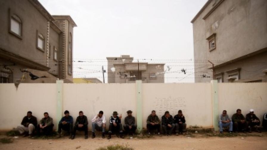 Бунтовници в Бенгази