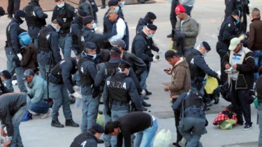 Италия: Още проблеми с нелегалните имигранти