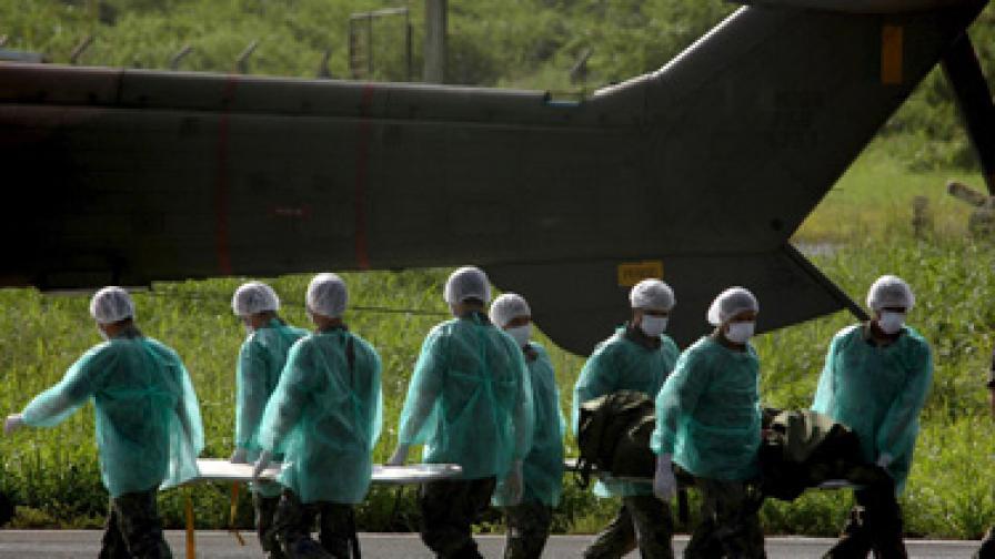 32 загинали при авиокатастрофа в Киншаса