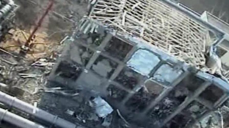 """Четвърти реактор на АЕЦ """"Фукушима-1"""""""
