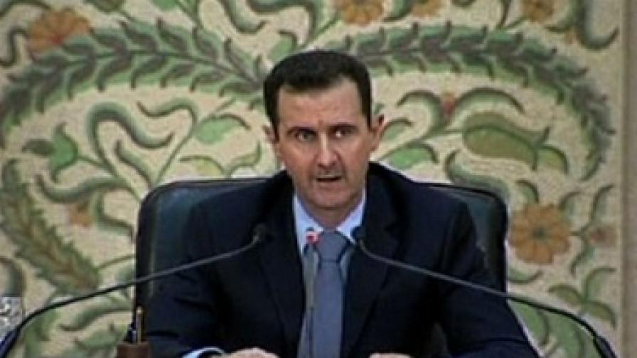 """""""Уикилийкс"""": САЩ тайно са финансирали опозицията в Сирия"""