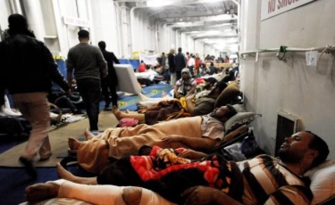 Жертвите в Либия вече са около 10 хил. души