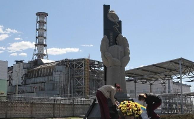 Чернобилското покритие - като решето