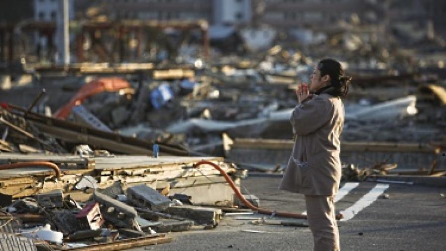 Лицето на трагедията в Япония - от отчаяние до щастие