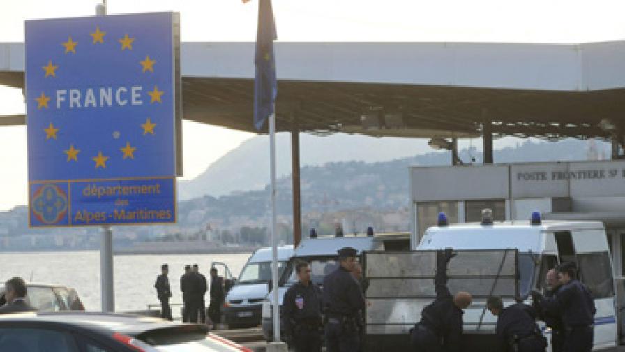 Франция обмисля временно да се оттегли от Шенген?