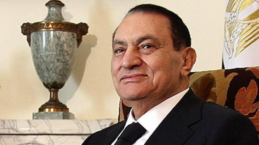 Местят Мубарак в затворническа болница край Кайро