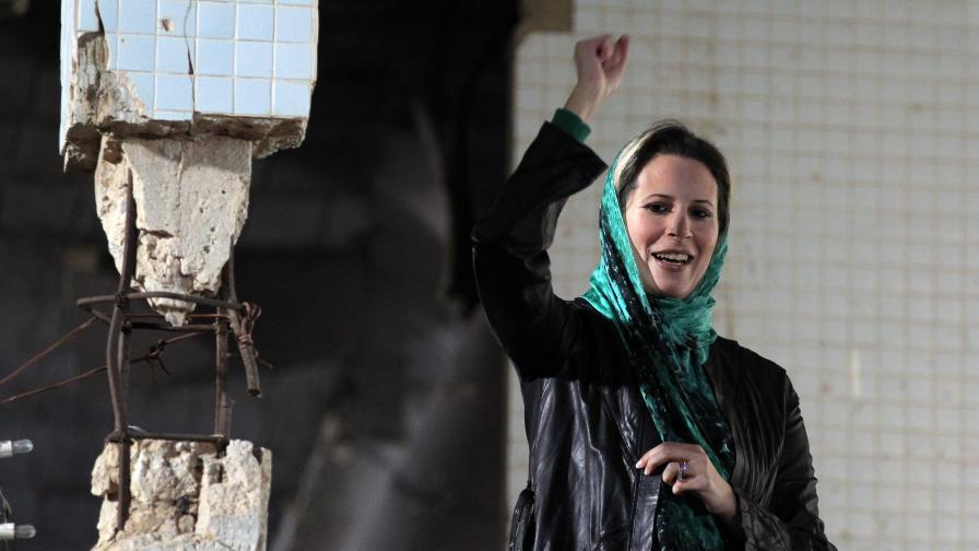 Айша Кадафи – поглед зад стените на бункера на либийския лидер