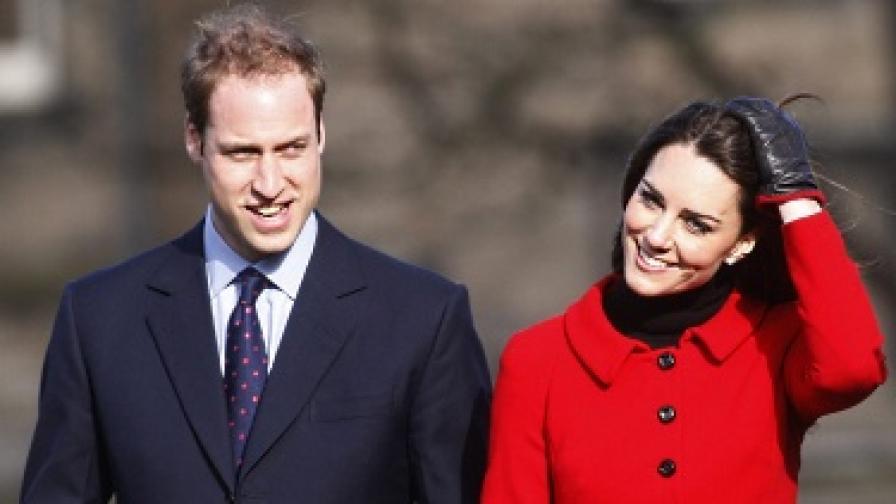Децата за кралската сватба: Уилям работи като рицар