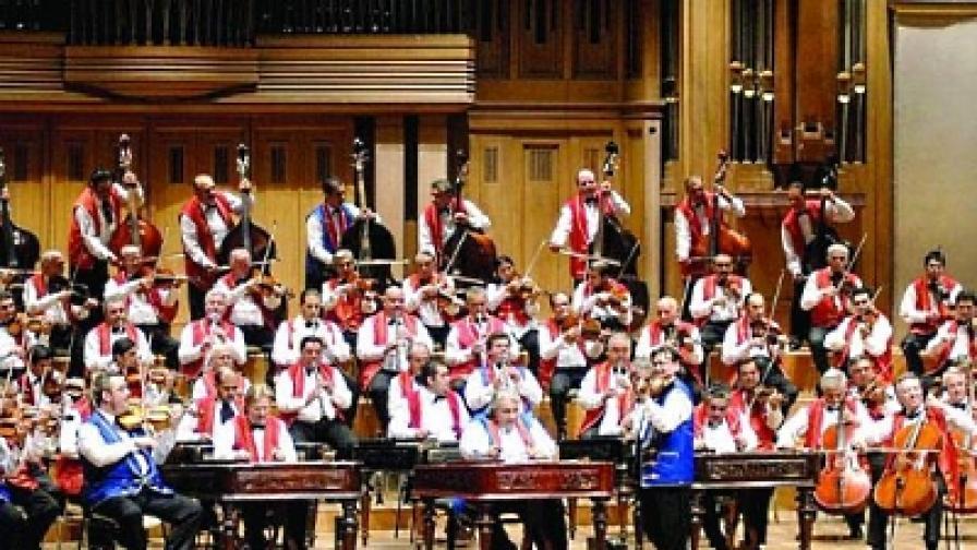 """Унгарският оркестър """"100 цигански цигулки"""" свири в НДК на 13 май"""