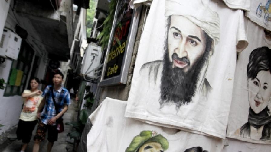 На провинциален битак в Китай предлагат тениски с лика на убития терорист