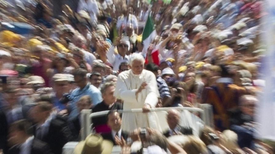 Папата закри манастир заради скандална слава