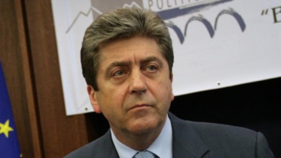 Първанов: Поставих въпроса за визите на срещата с Обама
