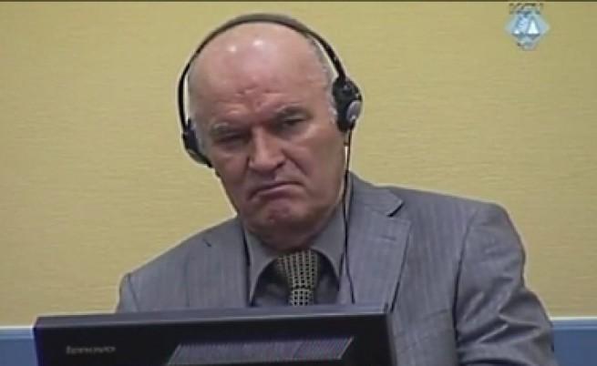 Ратко Младич заплашва, че ще престане да се храни и да пие лекарства