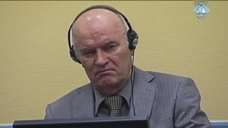 Младич в съда на 3 юни