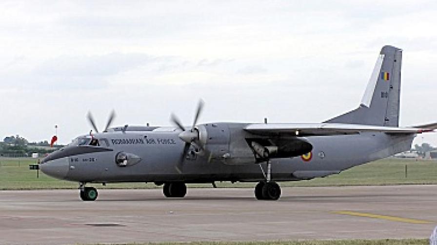 Български пилот приводни самолет в Габон